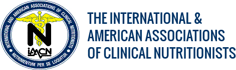 The International & American Associations of Clinical Nutritionists, Logo